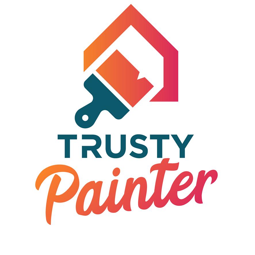 The Trusty Painters logo
