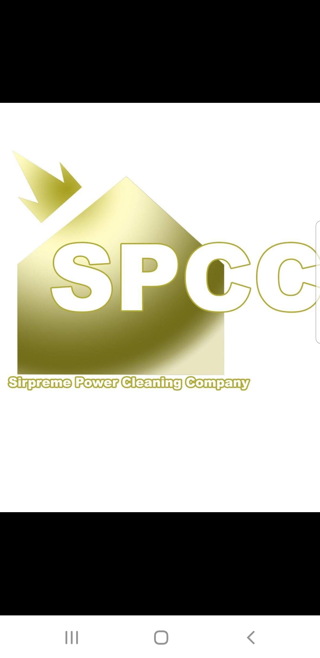 Surpreme Power Cleaning Company logo