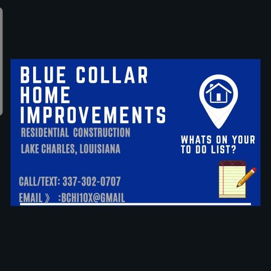 Blue Collar Home Improvements logo