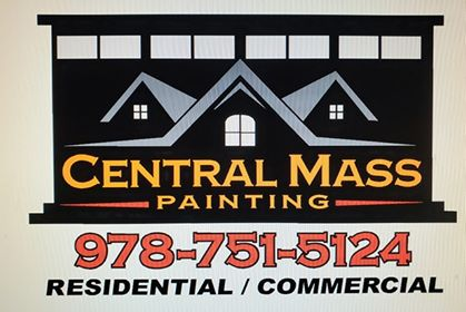 Central Mass Painting. Resi-Comm logo