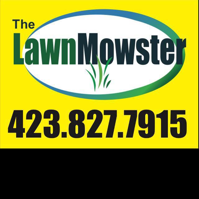 The Lawn Mowster logo
