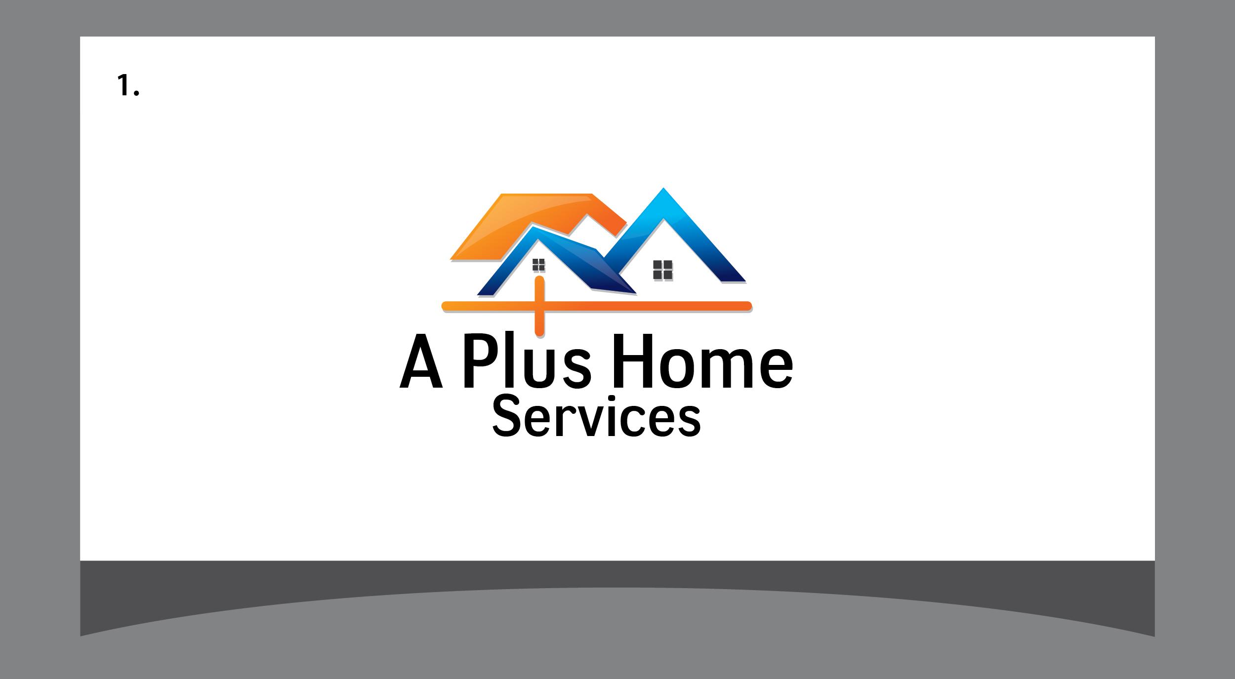 A Plus Home Services logo
