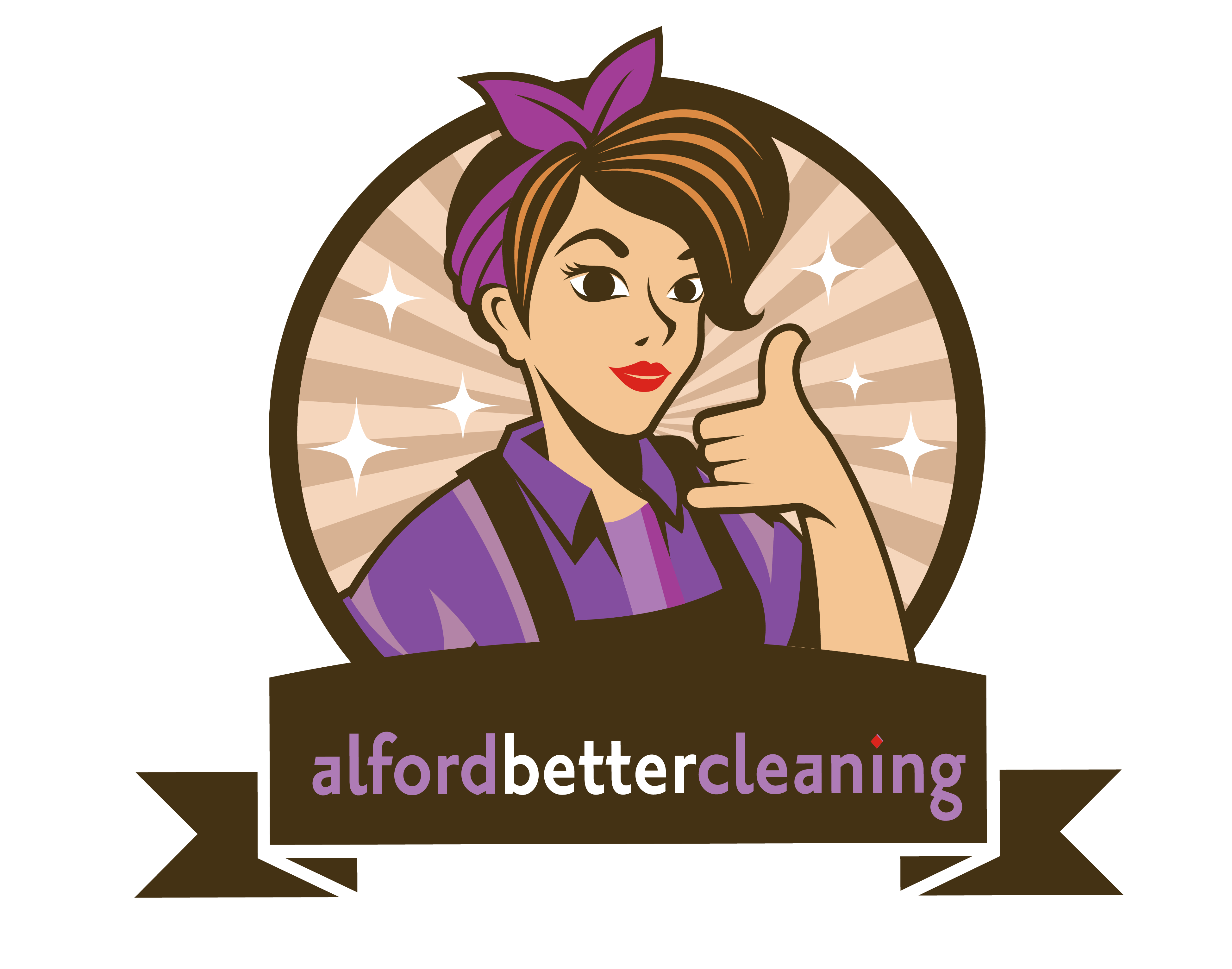 Alford Better Cleaning logo