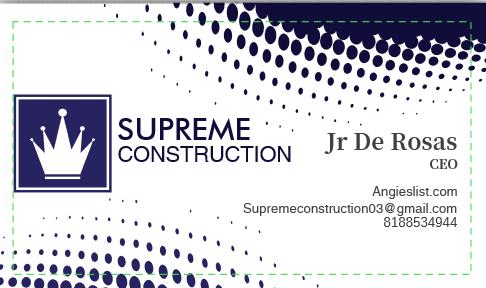 Supreme Construction logo