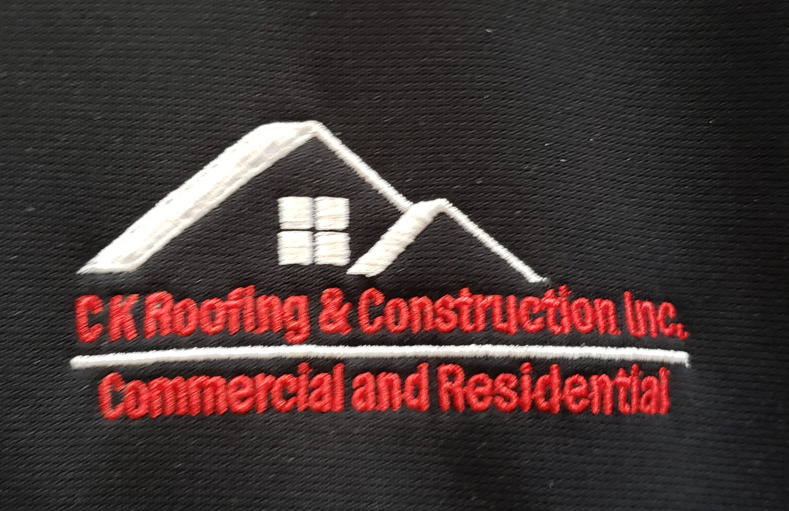 C K Roofing and Construction Inc. logo