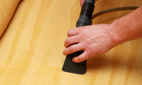 20% off of Upholstery Cleaning